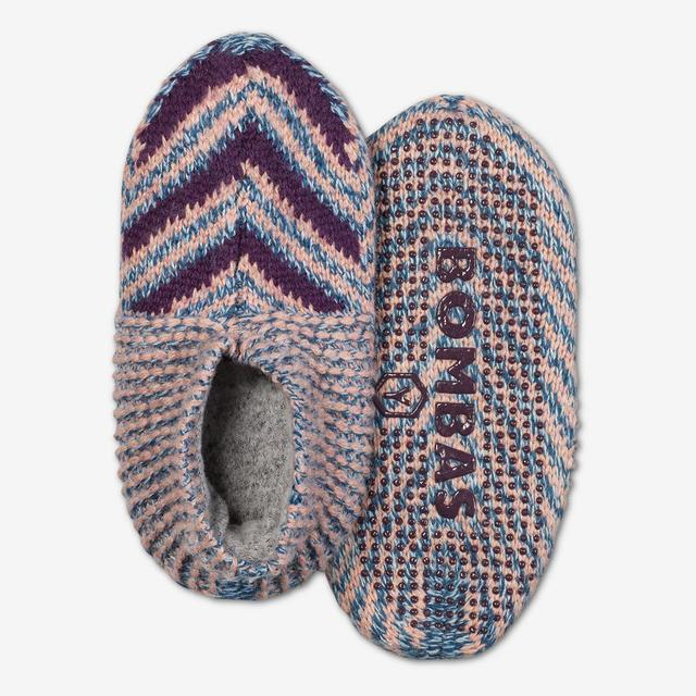 purple-multi Youth Gripper Slipper