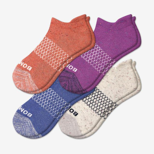 purple-rose-mix Women's Donegal Ankle Sock 4-Pack