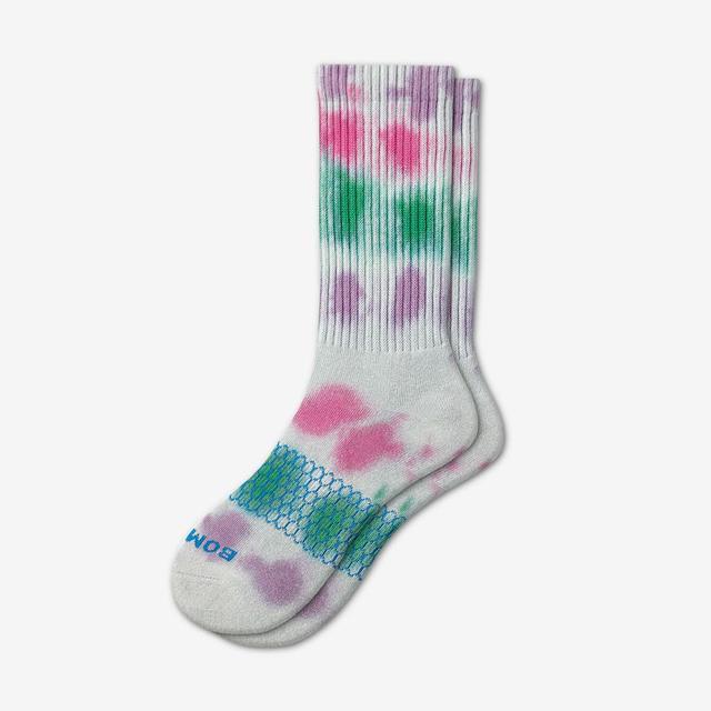 seagreen Women's Tie Dye Calf Socks
