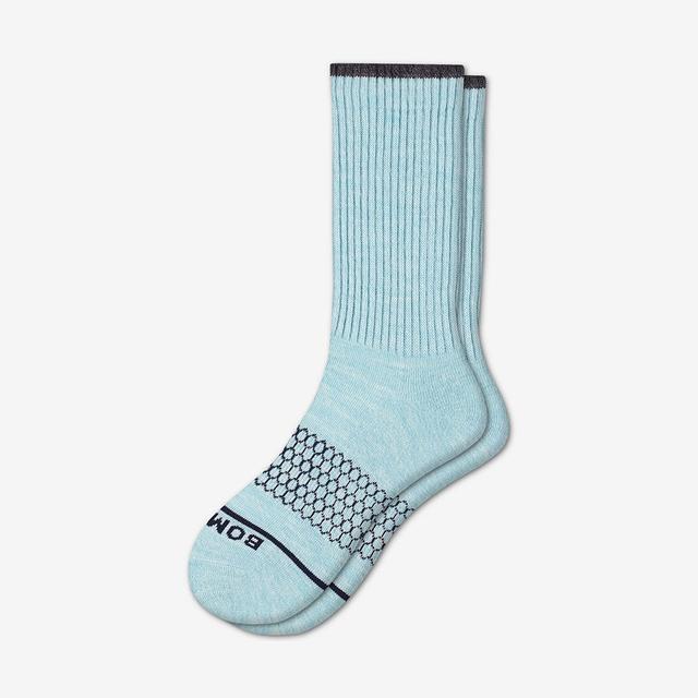 sky-blue Women's Merino Wool Calf Socks