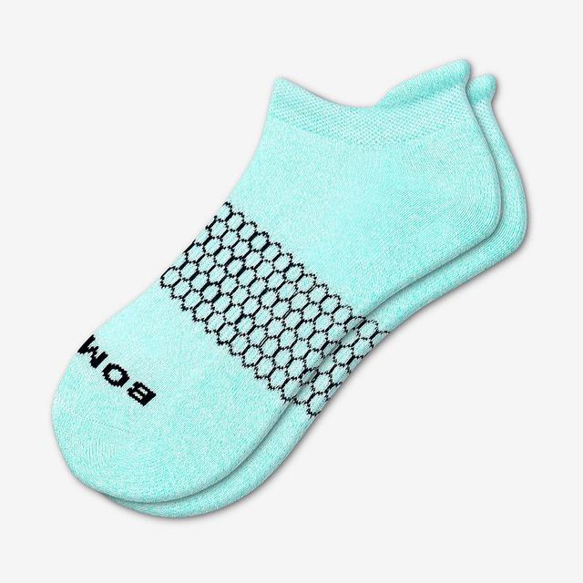 sky-blue Women's Classic Marls Ankle Socks