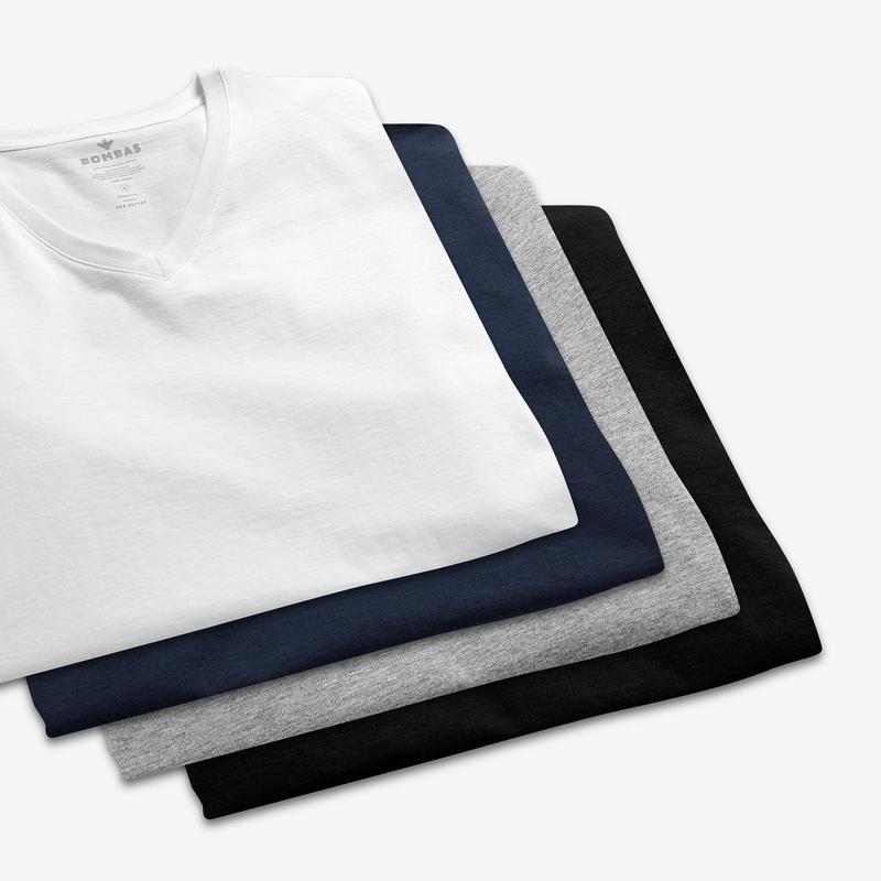 Men's Pima Cotton V-Neck T-Shirt 6-Pack