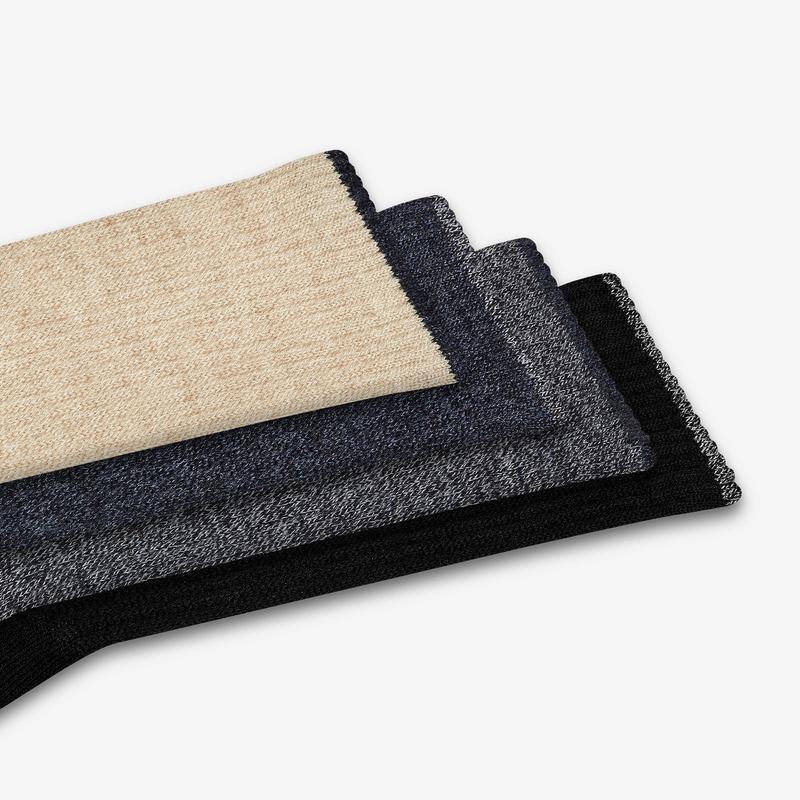Men's Merino Wool Calf Sock 8-Pack