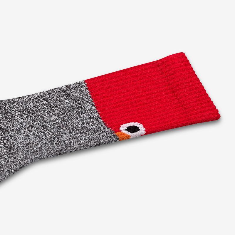 Women's Sesame Street Elmo Colorblock Socks