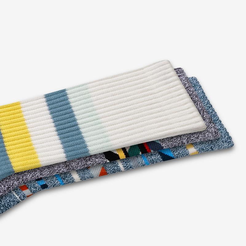 Men's Stripe Dream Calf Sock 4-Pack