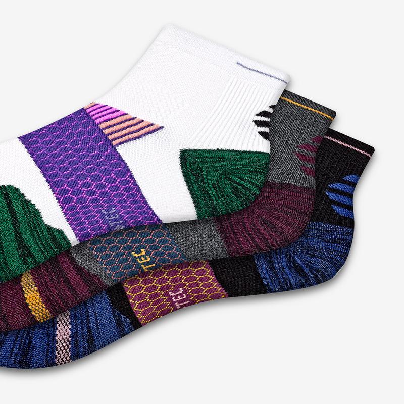 Women's Performance Running Quarter Sock 12-Pack