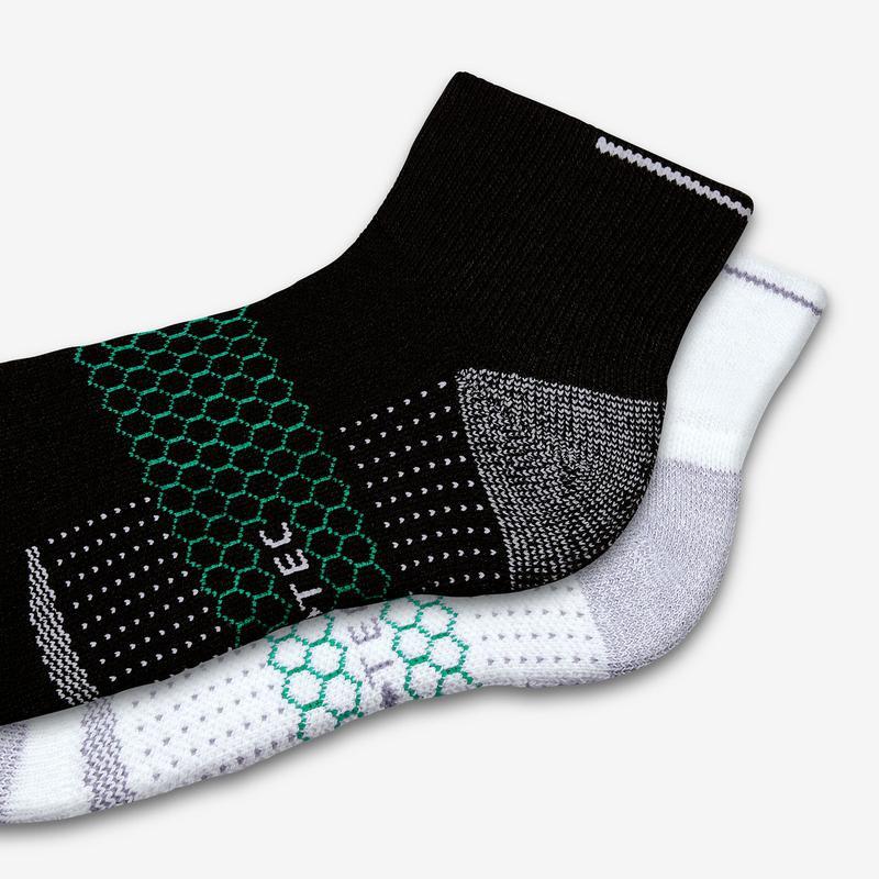 Men's Performance Golf Quarter Sock 3-Pack