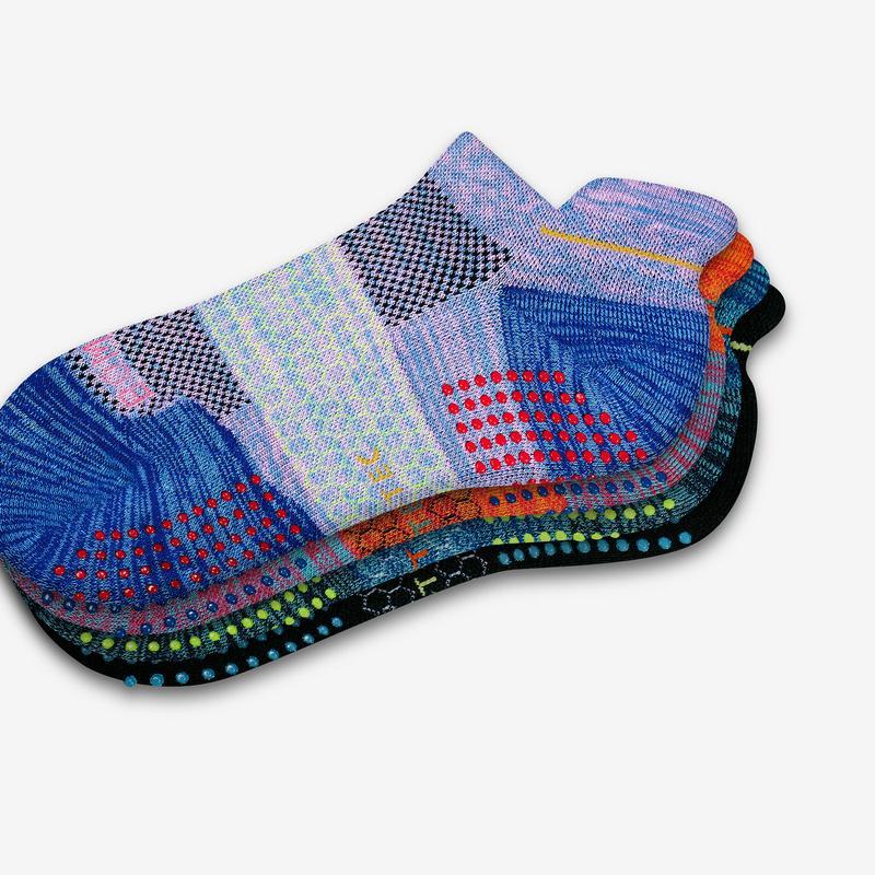 Women's Performance Gripper Ankle Sock 3-Pack
