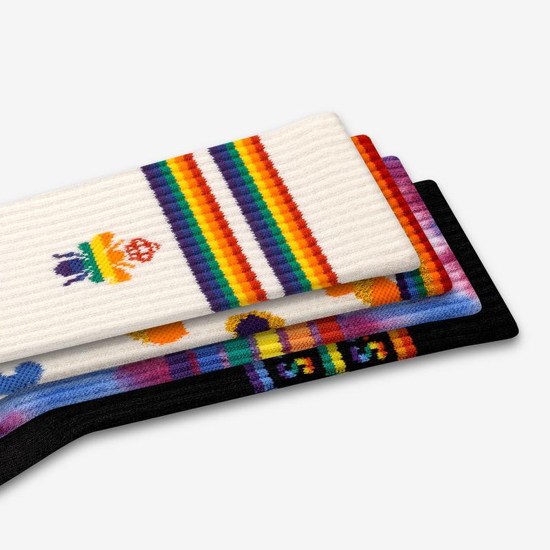 Pride Calf Sock 4-Pack