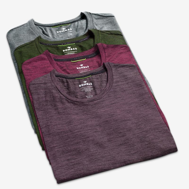 Women's Merino Crew Neck T-Shirt 4-Pack
