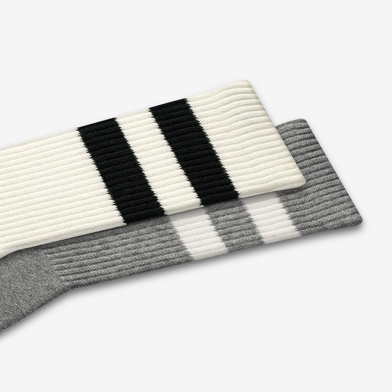 Men's Vintage Stripe Calf Socks