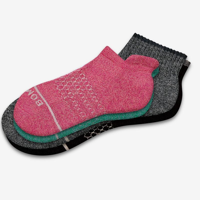 Women's Merino Wool Quarter & Ankle Sock 8-Pack
