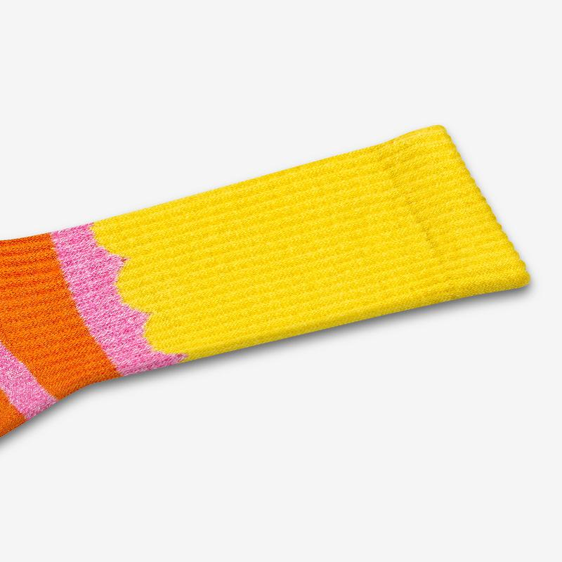 Men's Sesame Street Big Bird Colorblock Socks