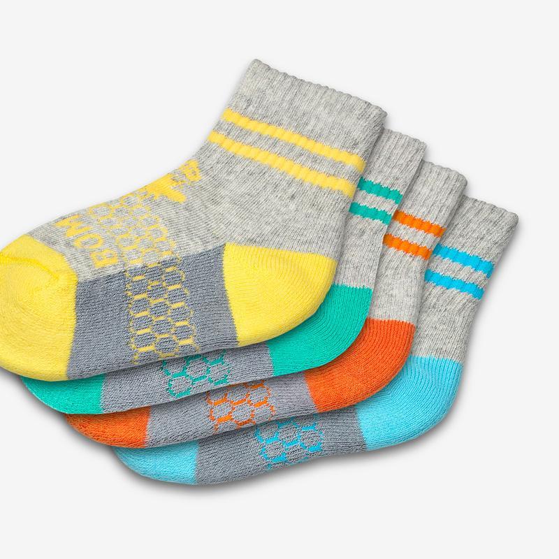 Toddler Calf Sock 4-Pack