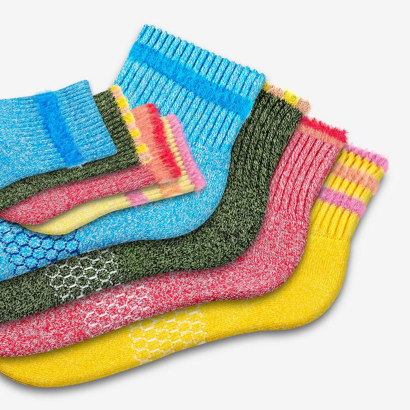 Father-Toddler Fuzzy Sesame Street Sock 8-Pack