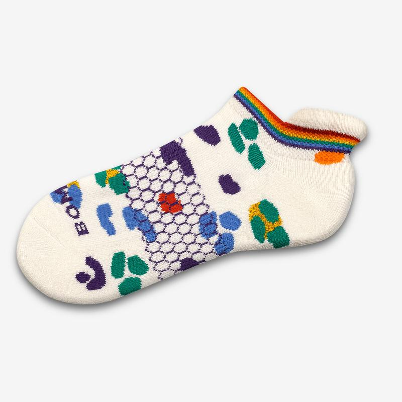 Leopard Pride Ankle Socks