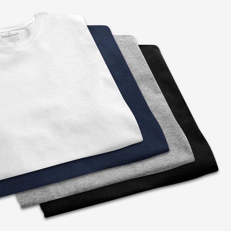 Women's Pima Cotton Crew Neck T-Shirt 3-Pack