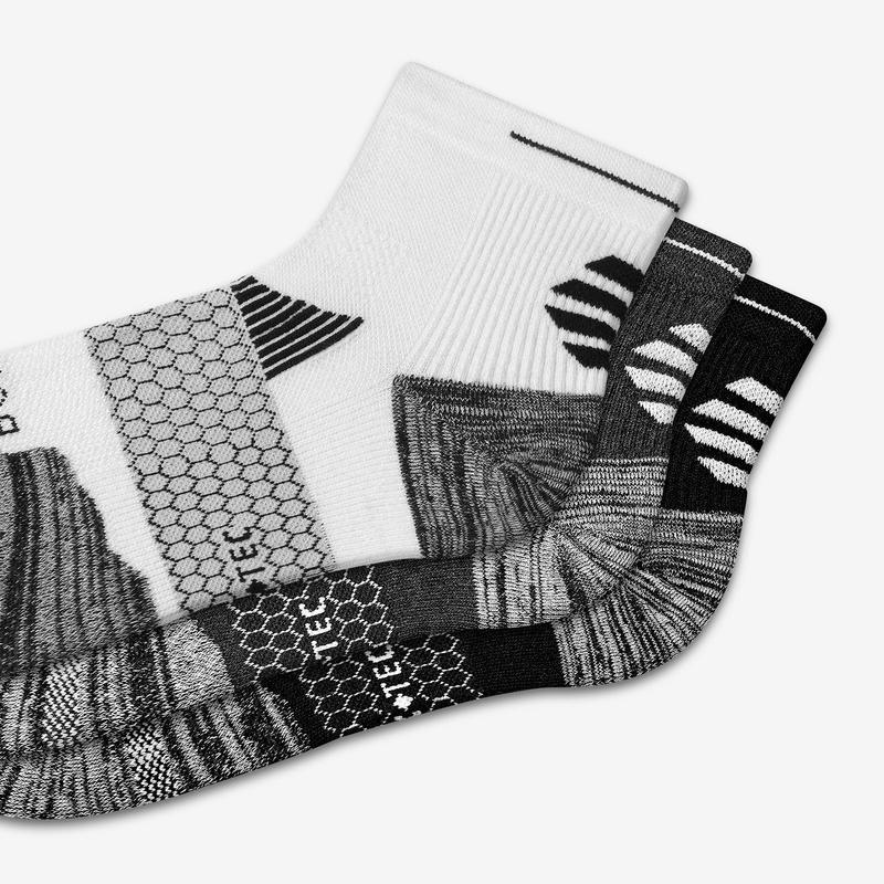 Men's Performance Running Quarter Sock 6-Pack