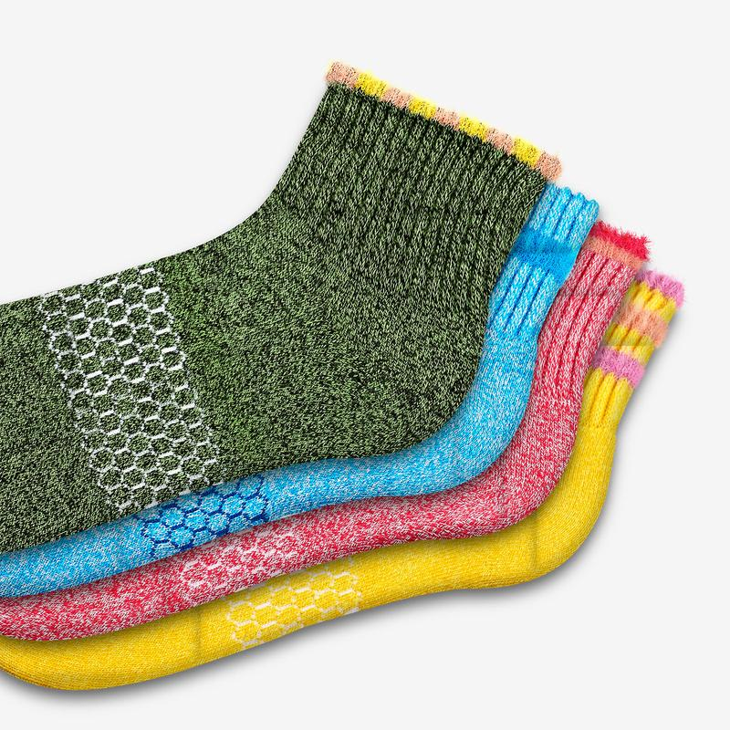Youth Sesame Street Fuzzy Sock 4-Pack