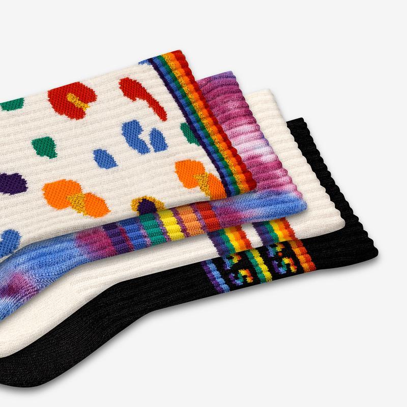 Youth Pride Calf Sock 4-Pack