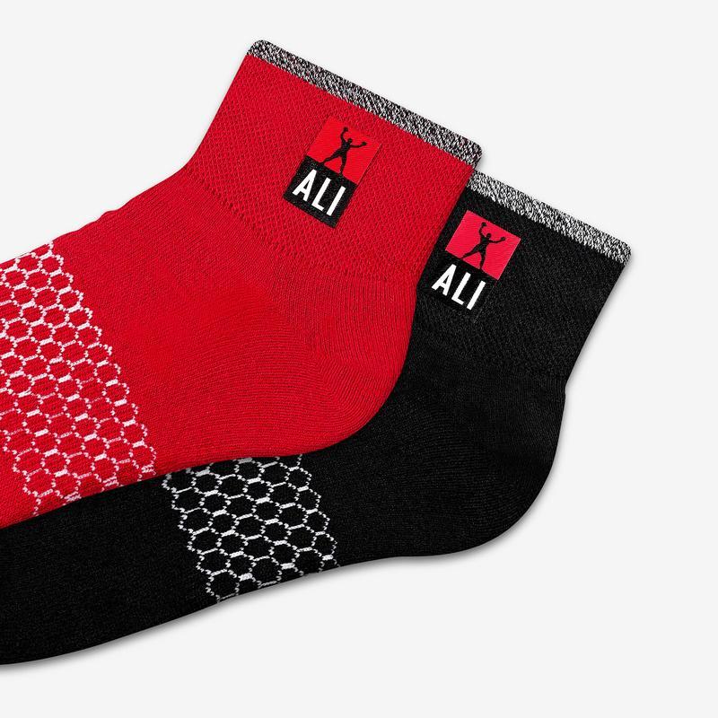 Men's Bombas x Ali Champ Quarter Socks