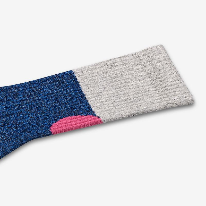 Men's Sesame Street Grover Colorblock Socks