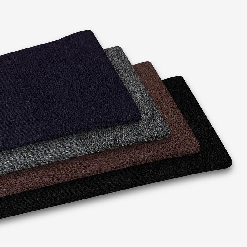 Men's Dress Calf Sock 4-Pack