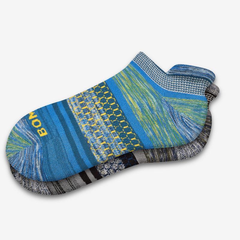 Men's Brush Stripe Ankle Sock 4-Pack