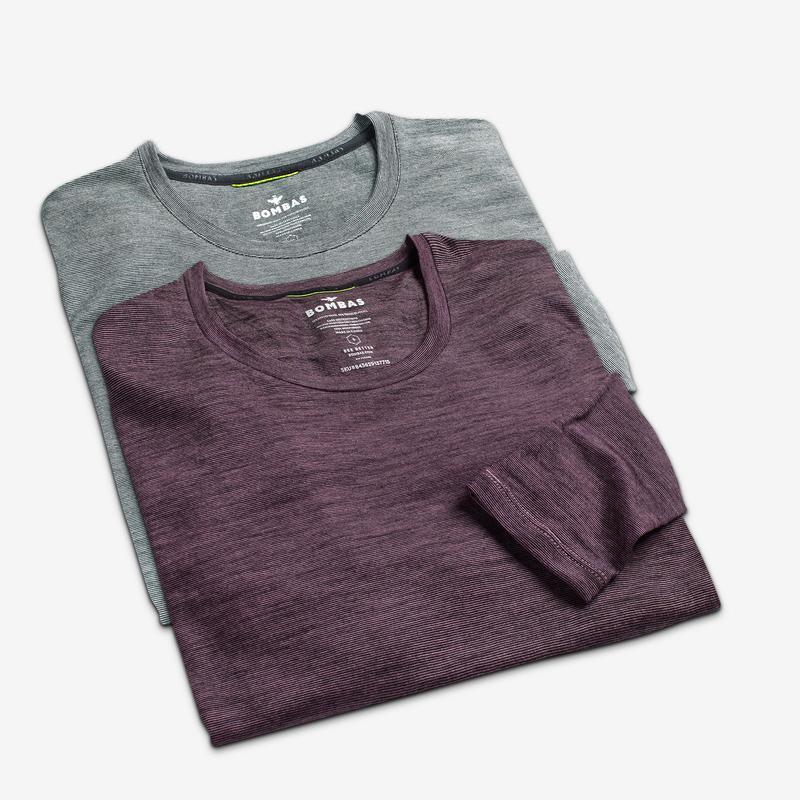 Women's Merino Crew Neck Long Sleeve T-Shirt