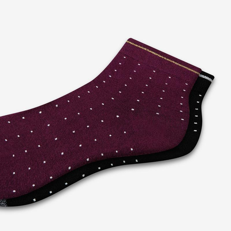 Women's Lightweight Microdot Quarter Socks