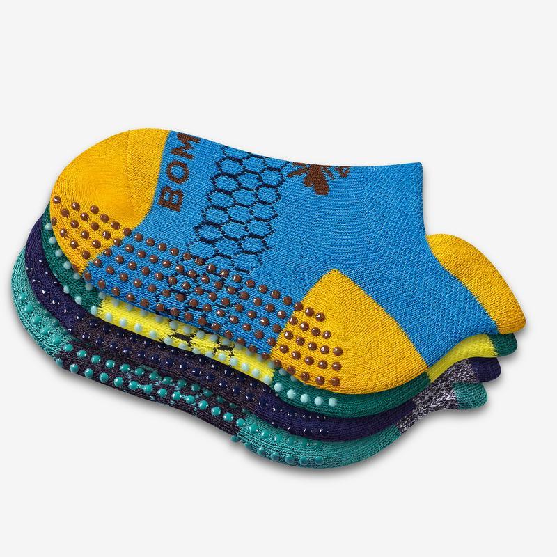 Toddler Gripper Ankle Sock 12-Pack