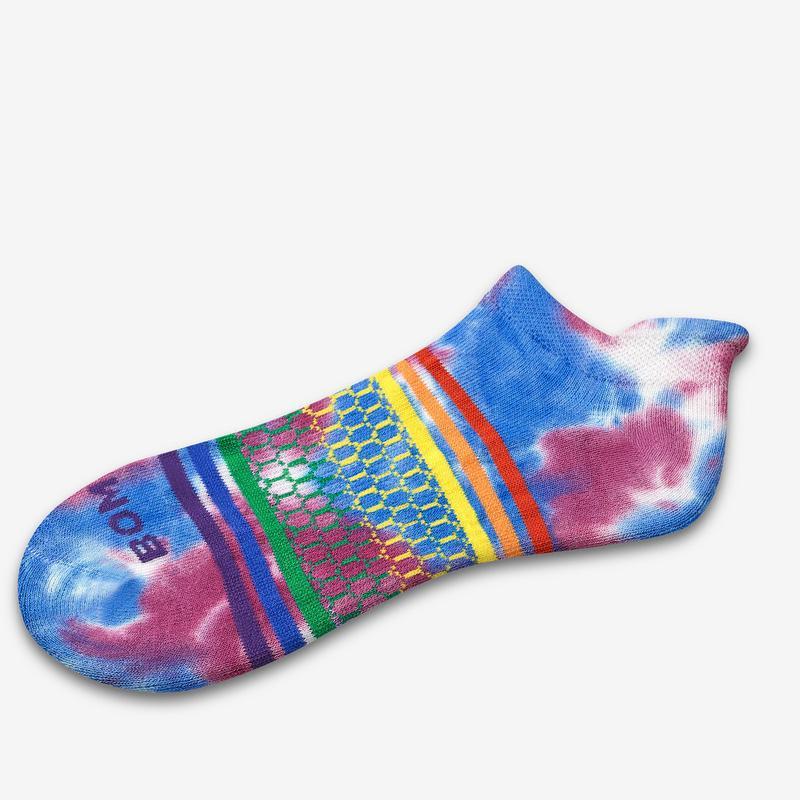 Tie Dye Pride Ankle Socks