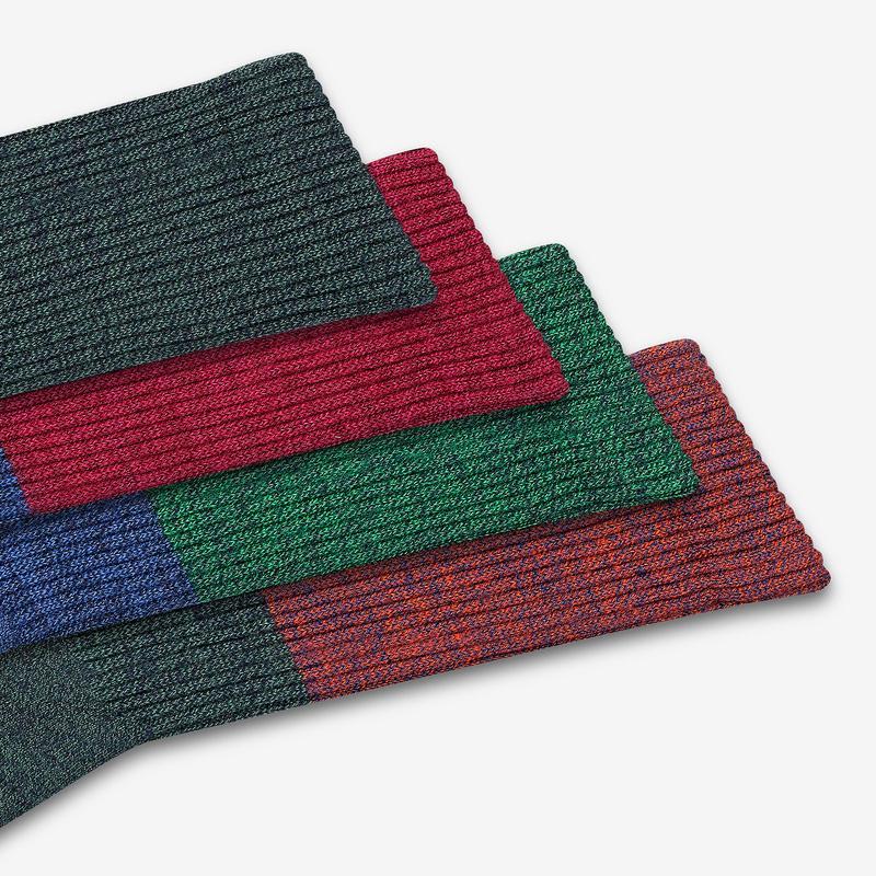 Men's Merino Tri-Block Calf Sock Gift Box