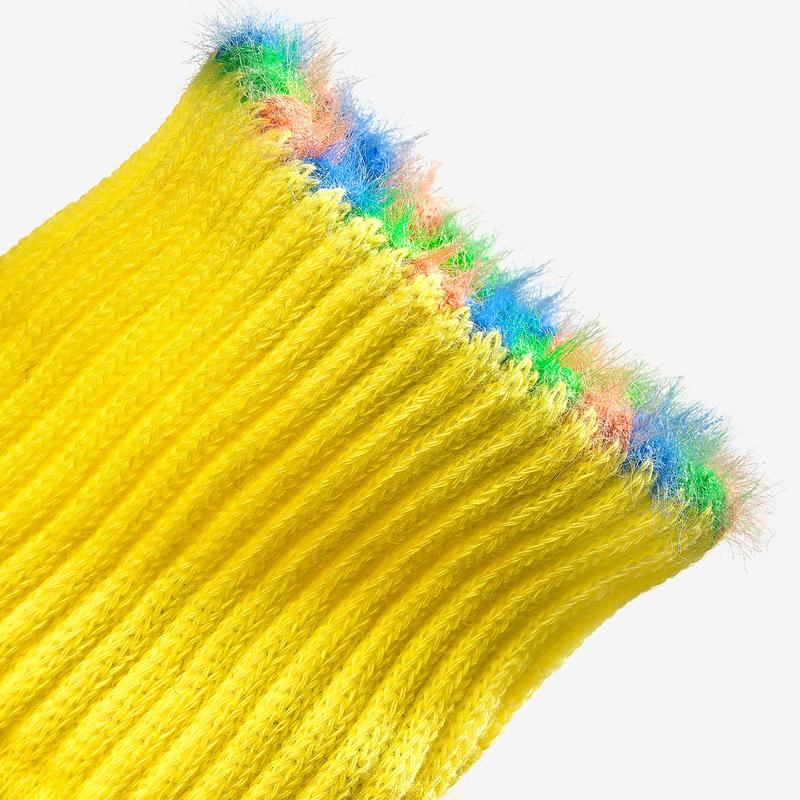 Youth Sesame Street Fuzzy Bert Socks