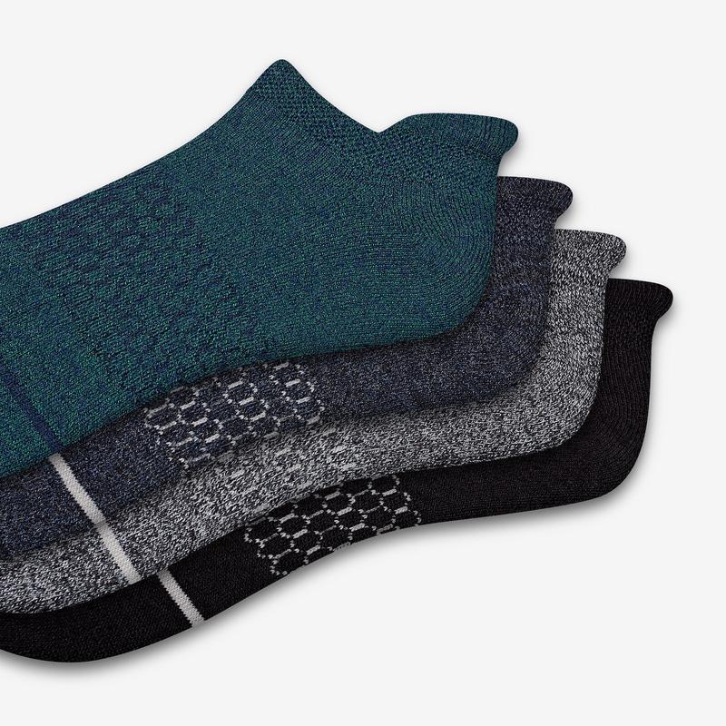 Men's Merino Wool Ankle Sock 8-Pack