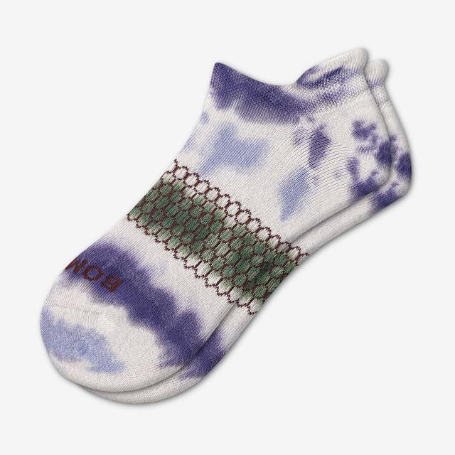 spruce-navy Women's Tie Dye Ankle Socks