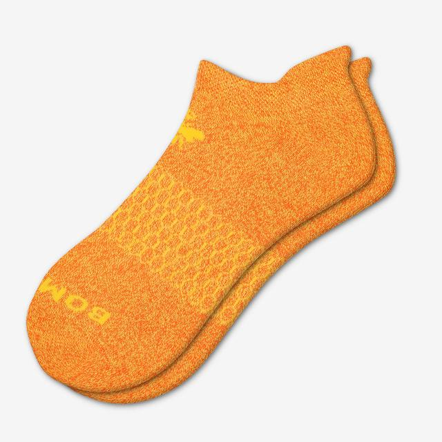 tangerine Bright Marls Ankle Sock