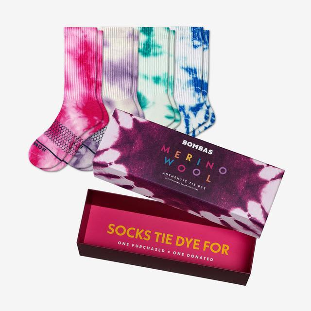 tie-dye-mix Women's Merino Tie Dye Gift Box
