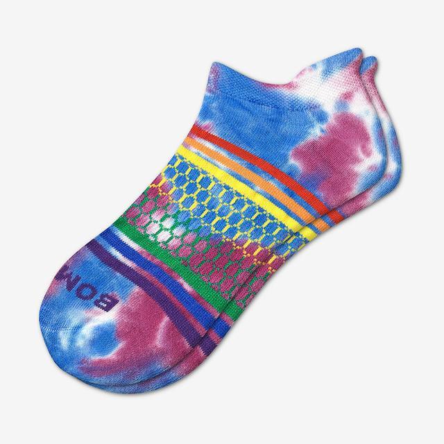 tie-dye-multi Tie Dye Pride Ankle Socks