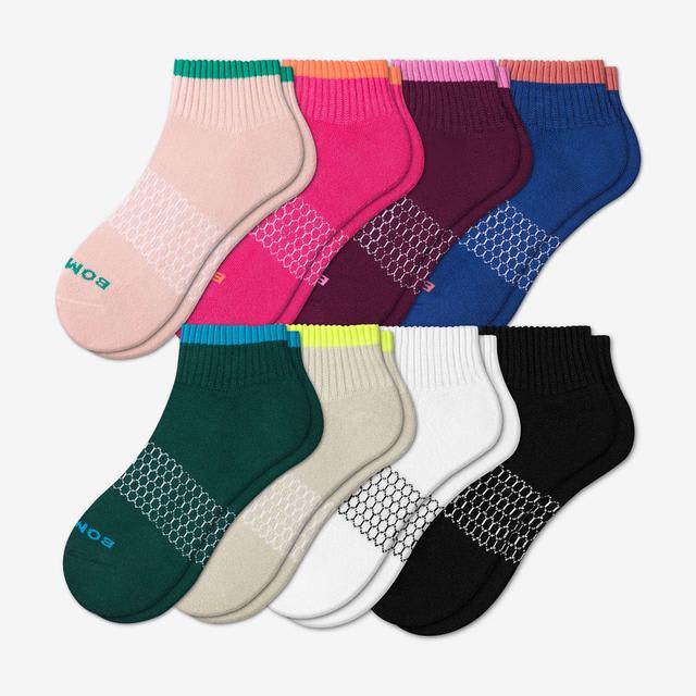 tipping-mix Women's Quarter Sock 8-Pack