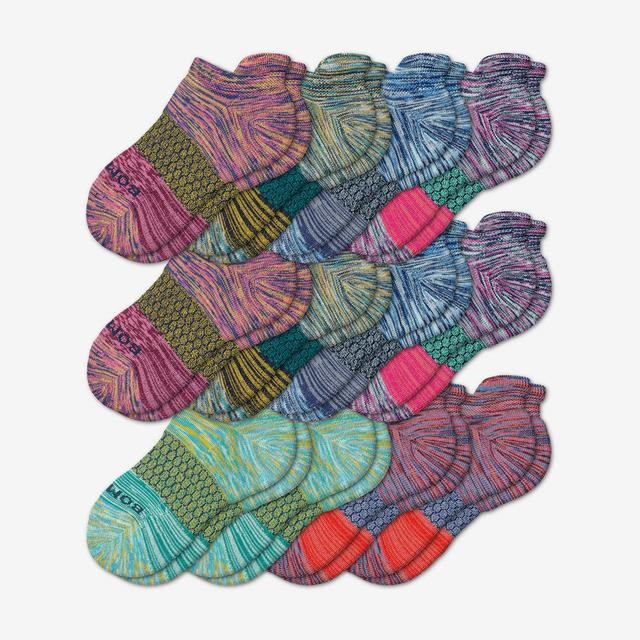 triblock-mix Youth Ankle Sock 12-Pack