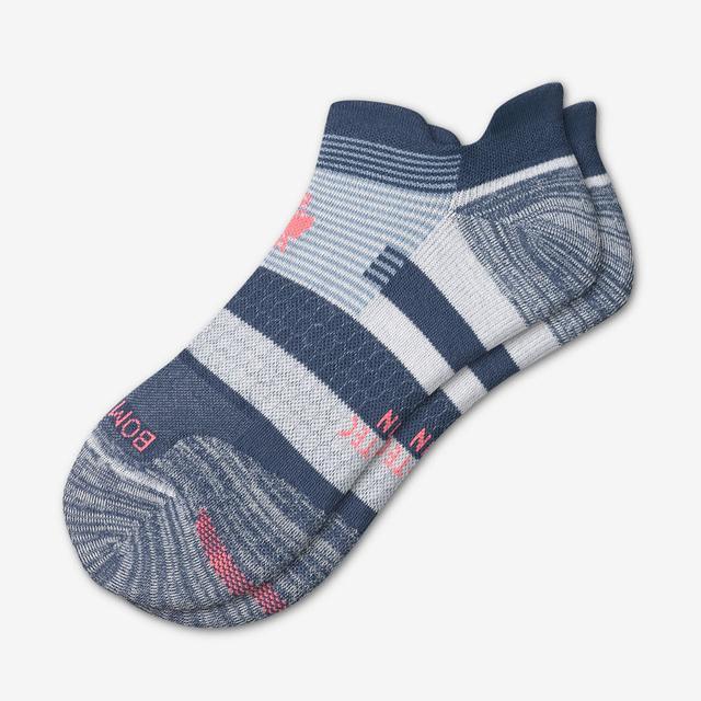 vintage-blue Men's Performance Running Ankle Socks