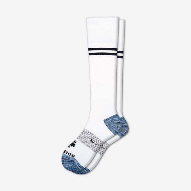 white Men's Compression Socks