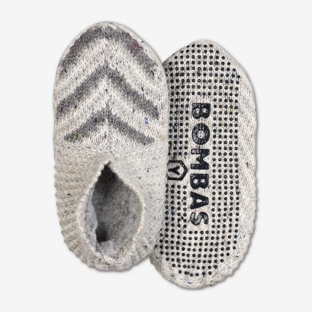 white-multi Youth Gripper Slipper