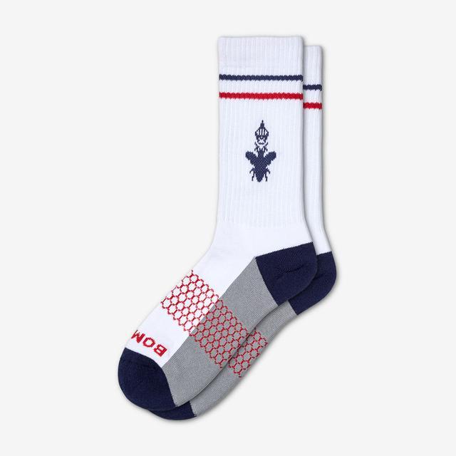 white-navy Women's Originals Calf Socks