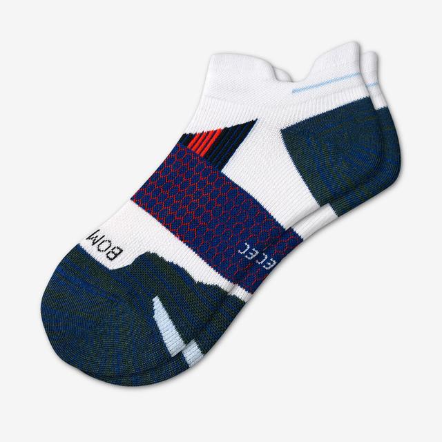 white-spruce Men's Performance Running Ankle Socks