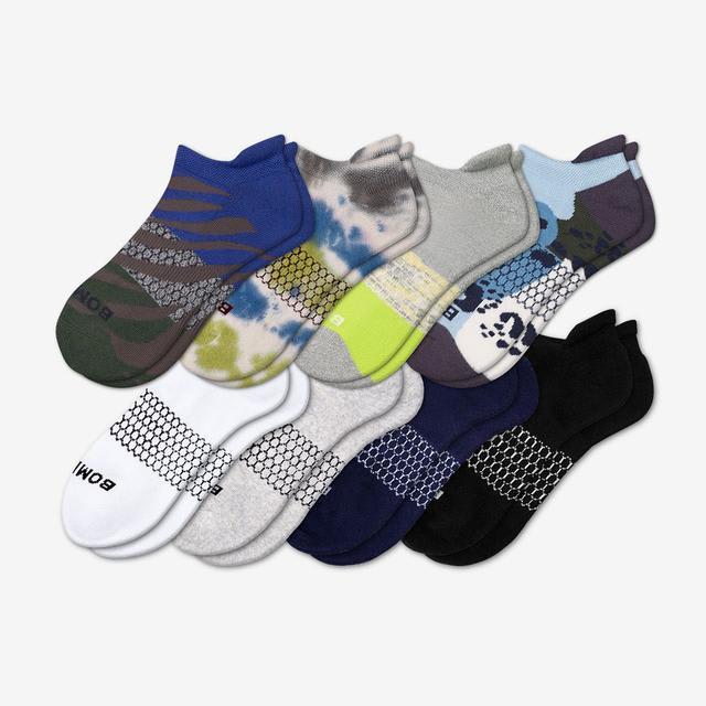 wild-wear Men's Ankle Sock 8-Pack