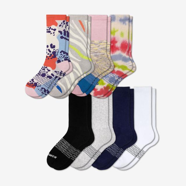 wild-wear-mix Women's Calf Sock 8-Pack