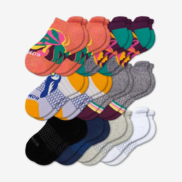wild-wear-mix Youth Ankle Sock 12-Pack