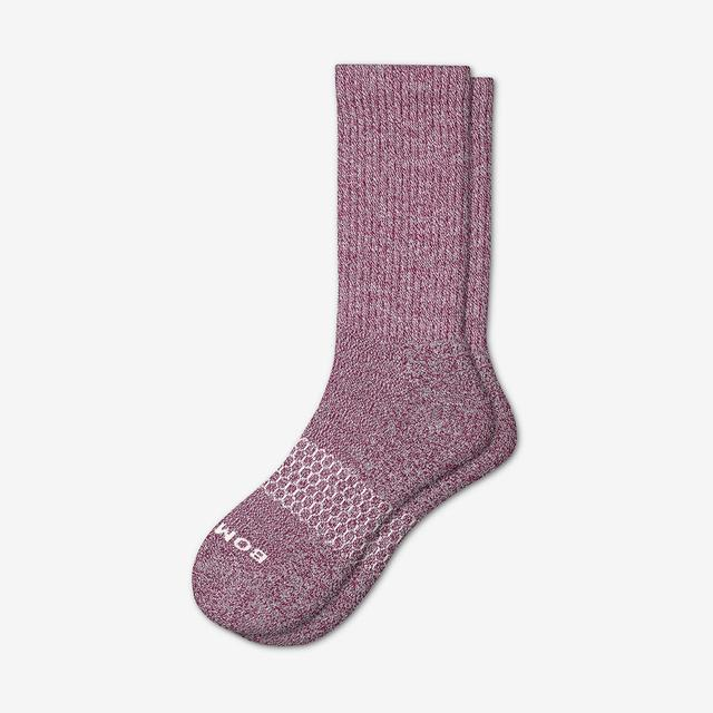 wine Men's Classic Marls Calf Sock